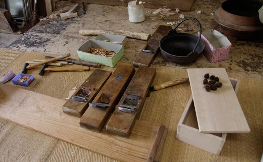 藤枝の伝統の技 桐小箱を作ろう